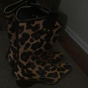 Bops cowboy rain boots size 8
